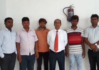 Students with faculty